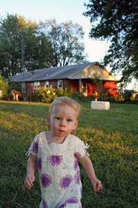 Evie on the Farm, again